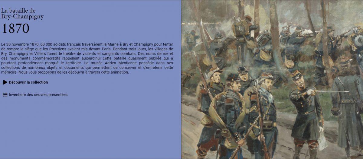 Bataille de Bry-Champigny au musée de Bry-sur-Marne