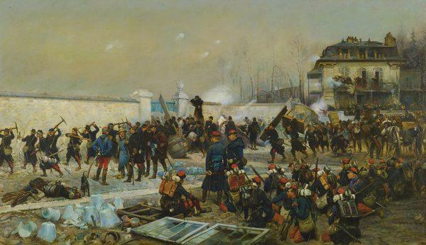 Jean-Baptiste-Édouard_Detaille_Champigny_Décembre_1870_(1879)
