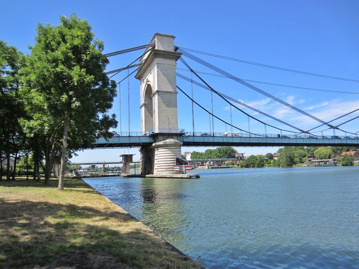 Bords de Seine et Pont du port à l'Anglais © CDT94/C.Chowah