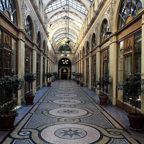 Conférence virtuelle : les passages de Paris