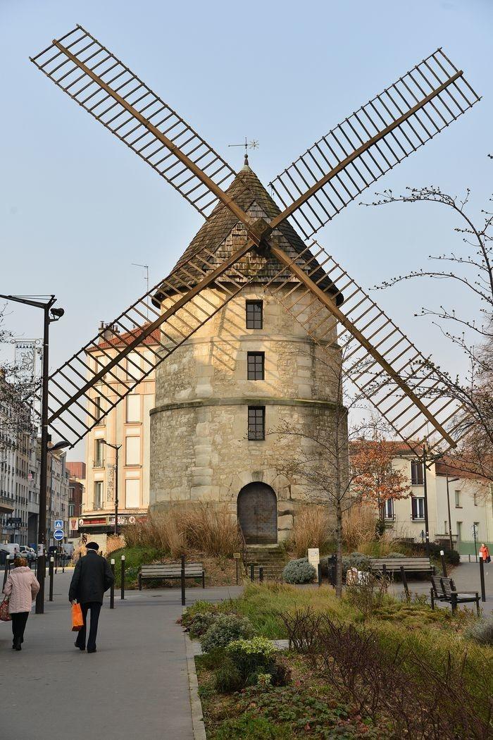 Le moulin de la tour à Ivry-sur-Seine