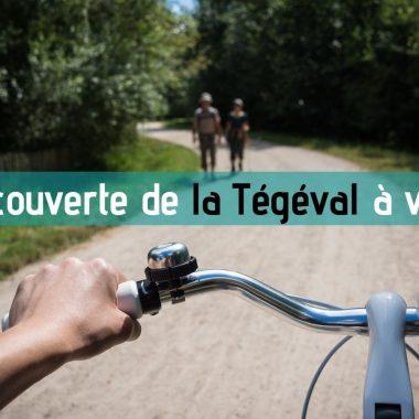 Vélo sur la Tégéval