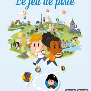 Paris région aventures affiche