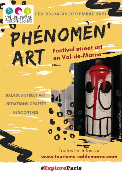 affiche festival phenomenart decembre 2021