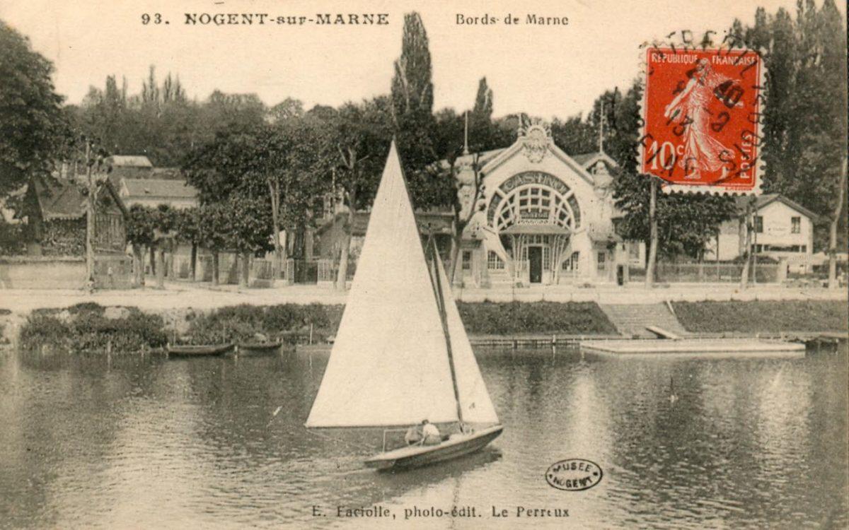Carte ancienne Nogent-sur-Marne