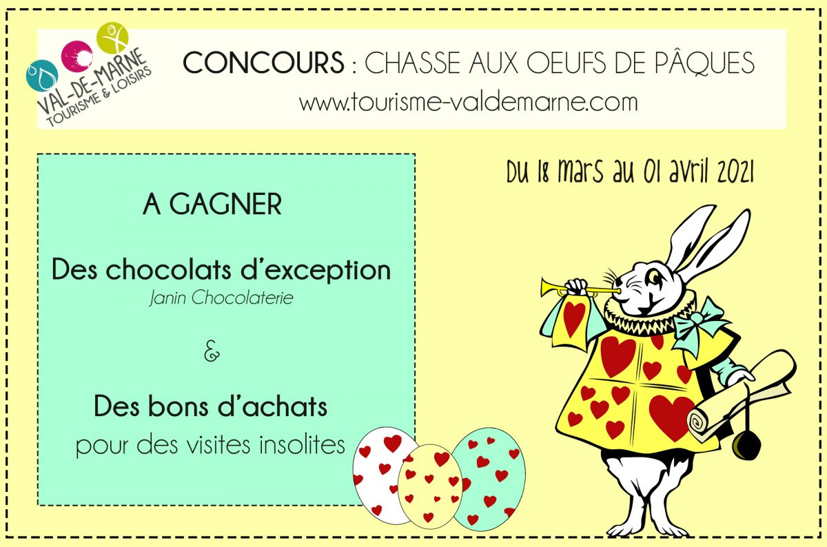 Chasse aux oeufs 2021 concours