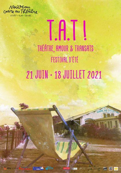 Festival T.A.T 2021 à Vitry-sur-Seine, Gare au Théâtre