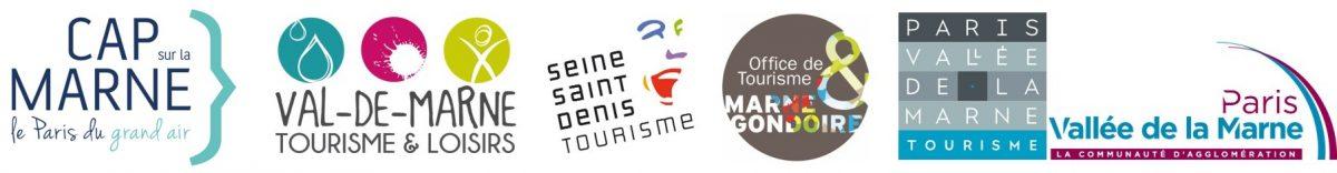 Logos collectif Cap sur la Marne