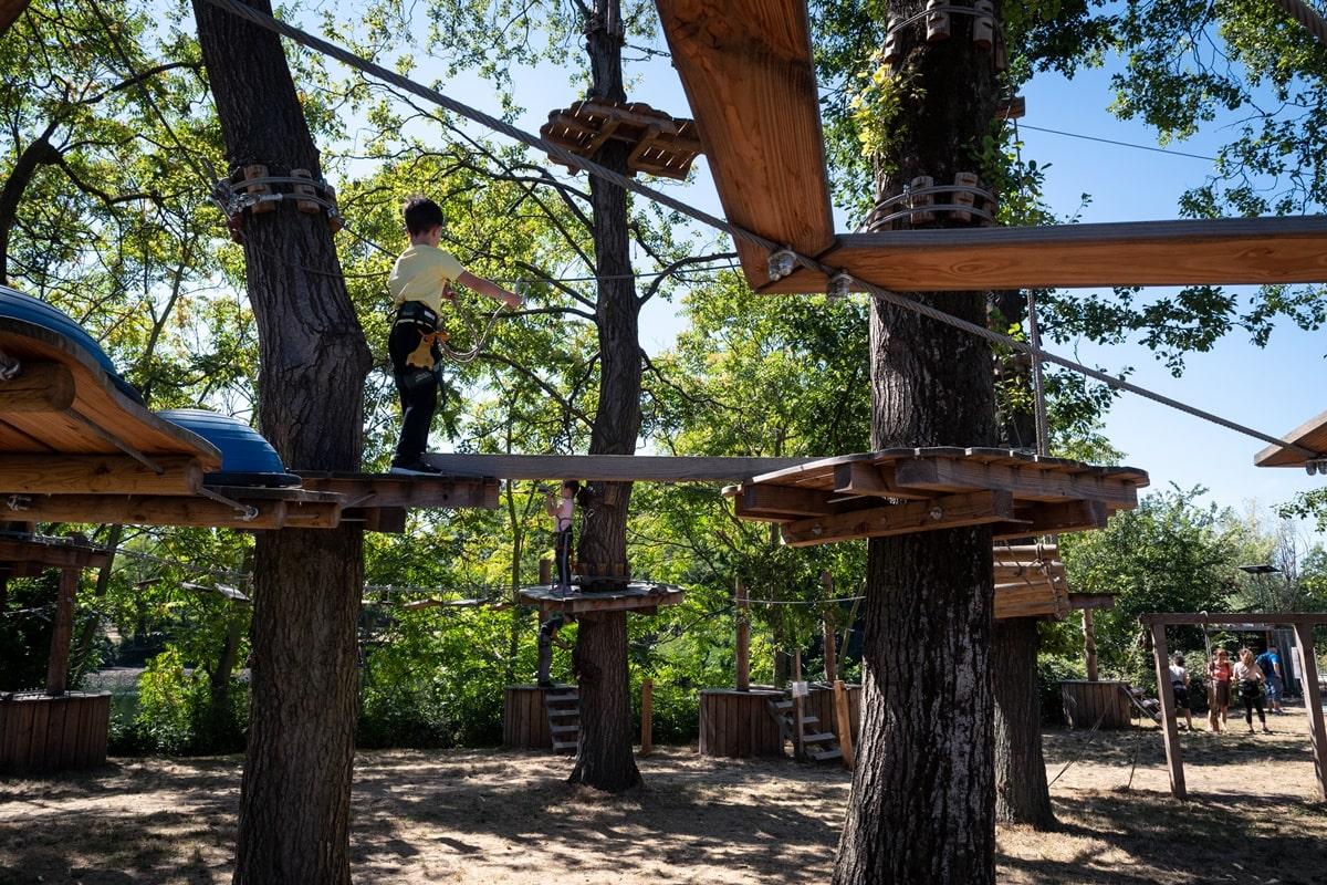 accrobranche parc sports de choisy