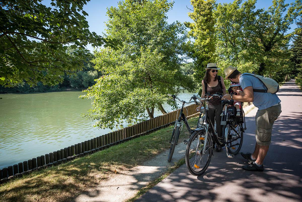 Randonnée vélo sur les bords de Marne