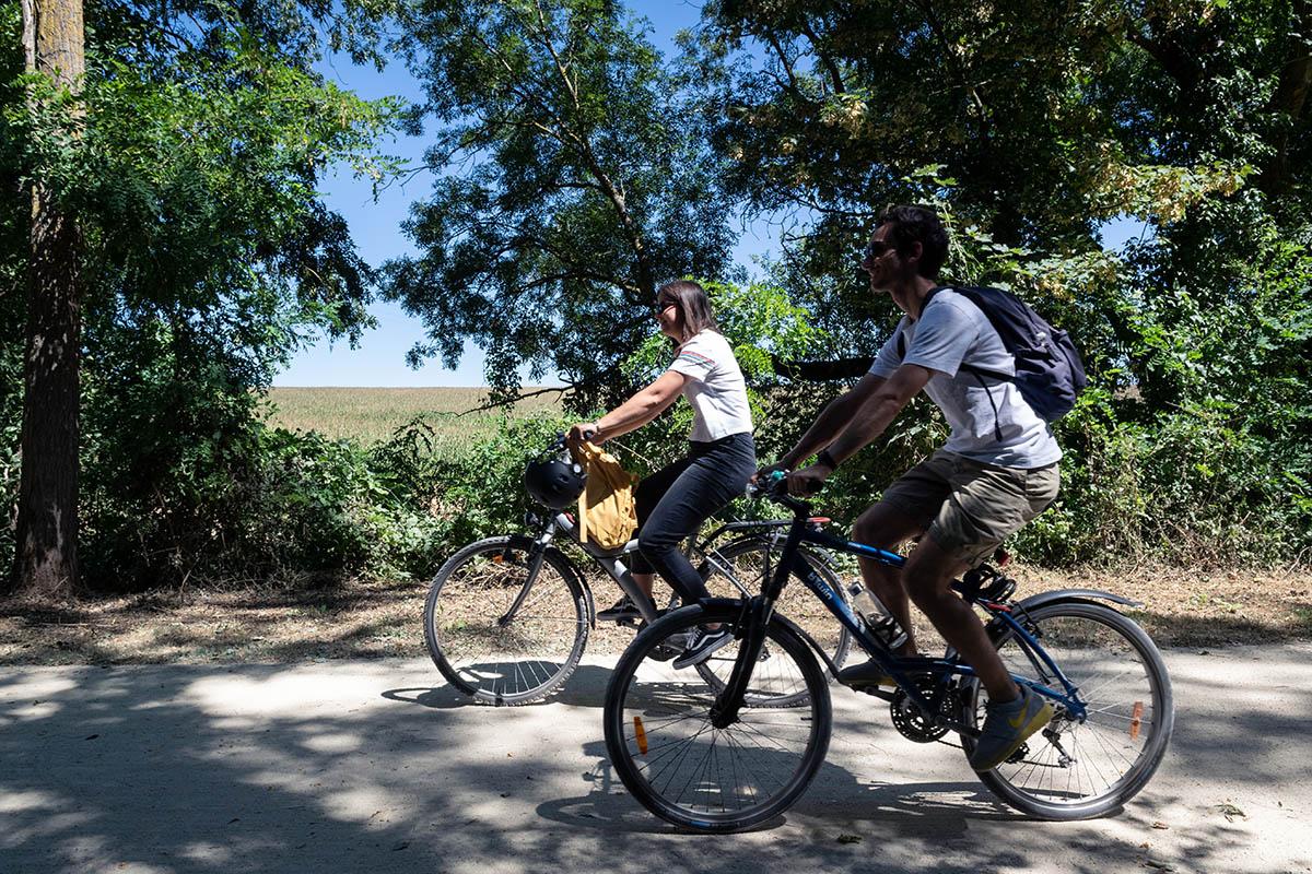 Découverte de la Tégéval à vélo