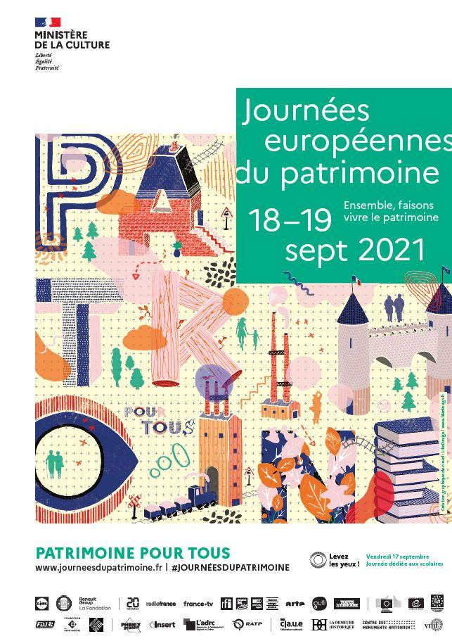 Affiche JEP 2021
