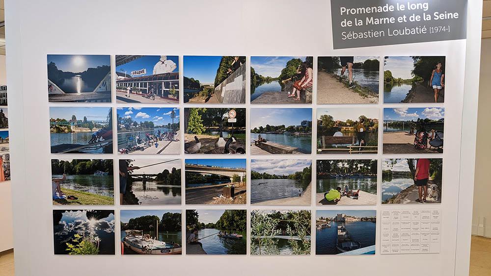 Visite de l'exposition Trois artistes en balade au Musée de Nogent-sur-Marne