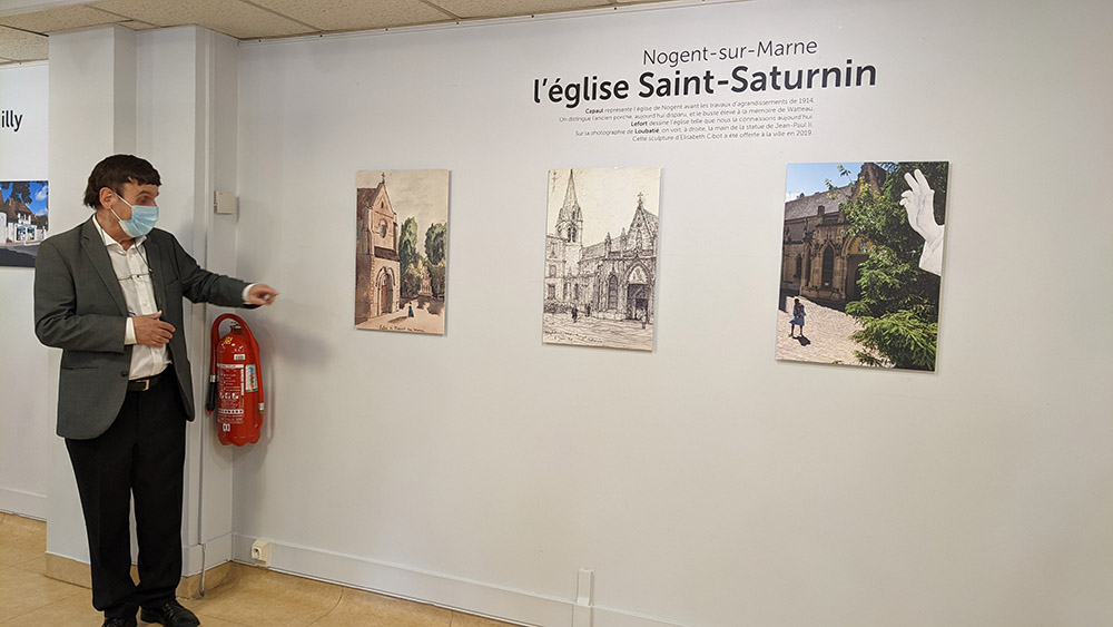 Exposition Trois artistes en balade au Musée de Nogent-sur-Marne