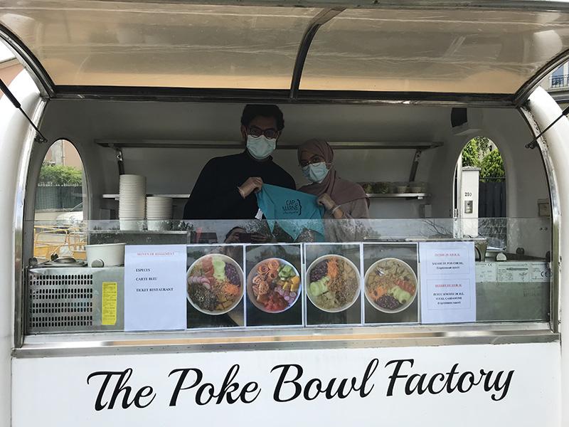 Food truck Poké Bowl Factory grande marche Cap sur la Marne