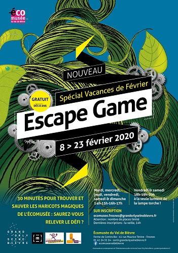 Affiche Escape Game de Fresnes