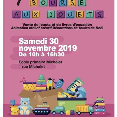 BOURSE AUX JOUETS de Fontenay