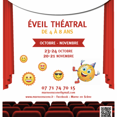 STAGE D'EVEIL THEATRAL (4-8 ANS)