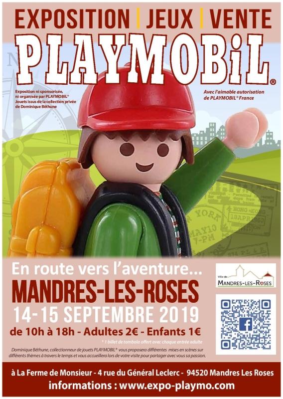 Affiche-Exposition-Playmobil-Mandres-2019-Dominique-Bethune