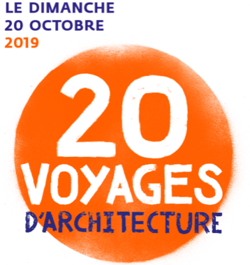 20 VOYAGES d'ARCHITECTURE – Journées Nationales de l'Architecture