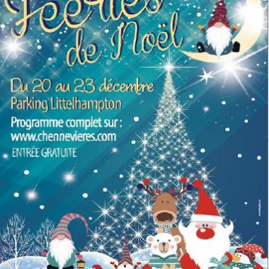 Marché de Noël et Animations – La Féerie de Chennevières