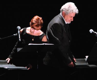 Lecture Spectacle Aragon/Triolet avec Ariane Ascaride et Didier Bezace