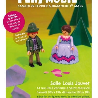 Exposition Playmobil – Salle Louis Jouvet