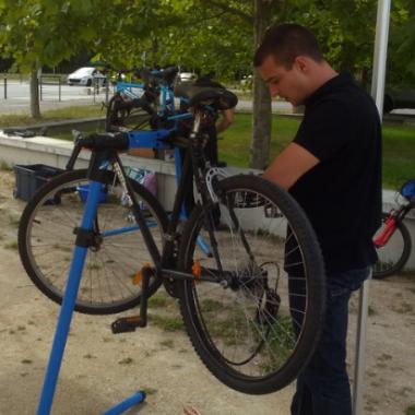Ateliers d'Auto-Réparation de Vélos sur la TEGEVAL