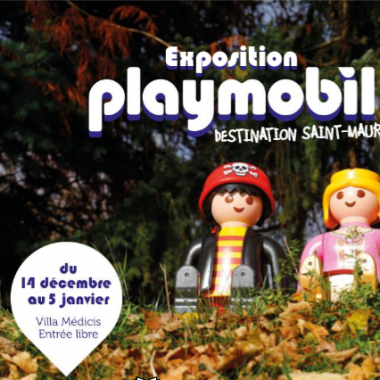 Exposition Playmobil® : Destination Saint-Maur ! à la Villa Médicis