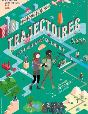 Exposition  TRAJECTOIRES à L'Exploradôme