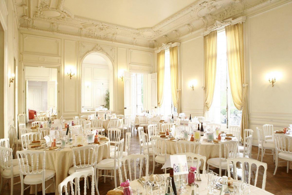 salle réception chateau santeny