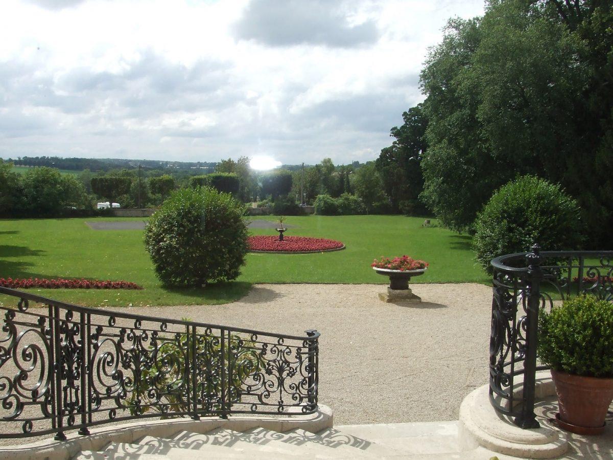 jardin chateau santeny