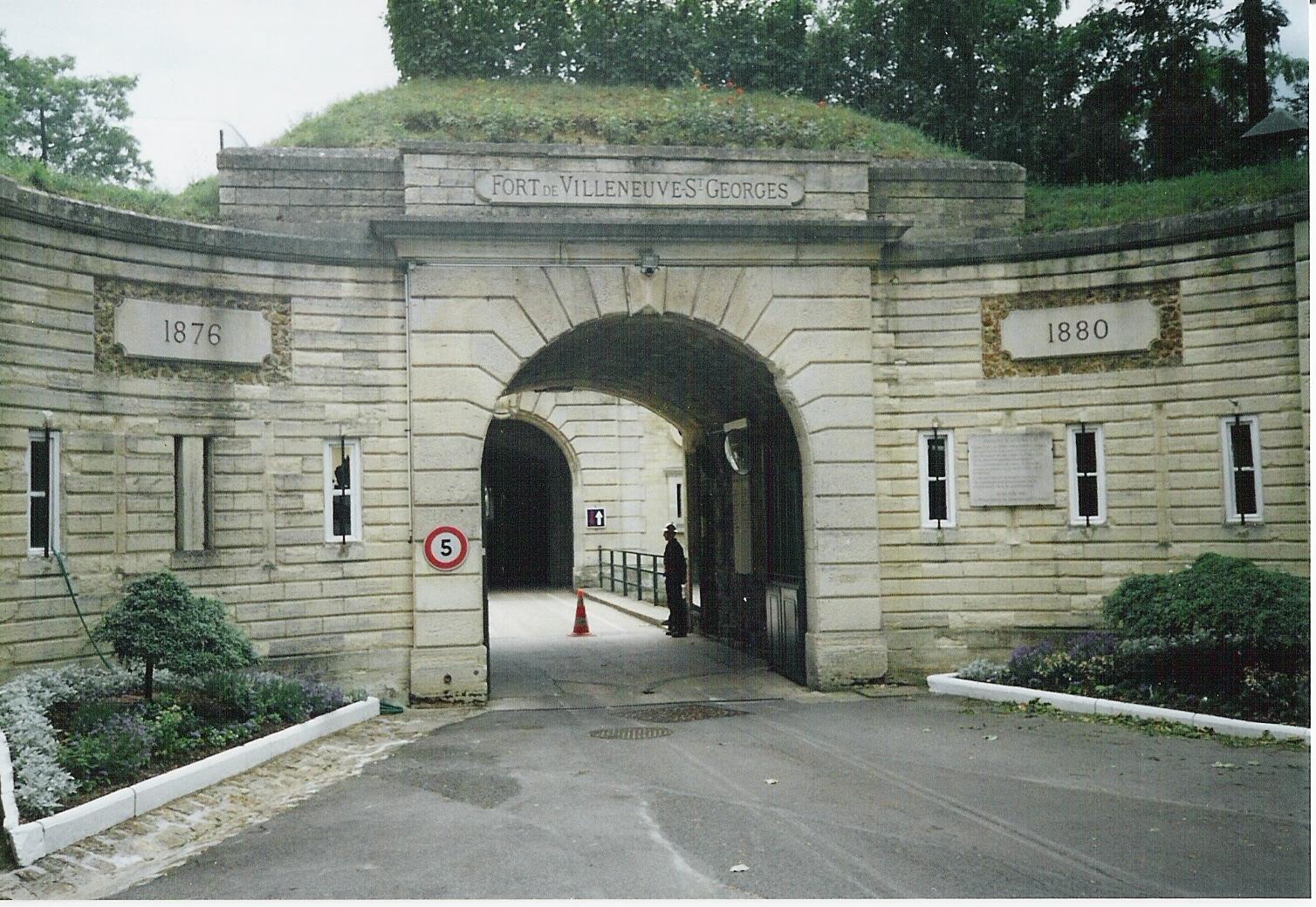 FORT DE VILLENEUVE-SAINT-GEORGES