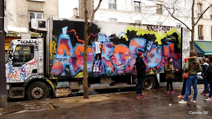 Fresh-Street-Art-Tour-Paris-Belleville-Camion