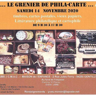 LE «GRENIER» de PHILA-CARTE