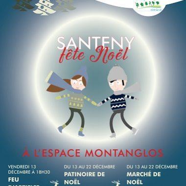 Marché de Noël et PATINOIRE à Santeny