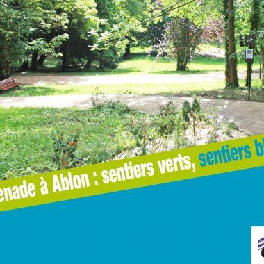 SENTIERS VERTS ET BLEUS À ABLON-SUR-SEINE