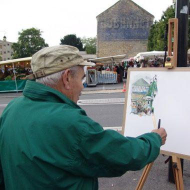 Les Peintres du Marché à Villecresnes