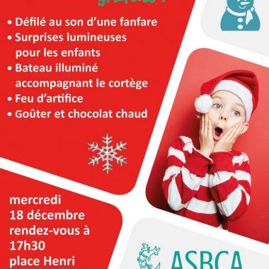 Défilé de Noël à Créteil