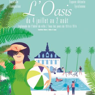 L'Oasis, l'été à Vincennes