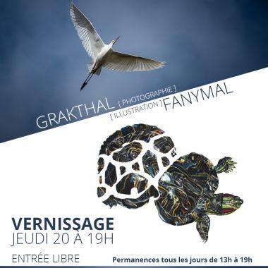 Exposition de Grakthal & Fanymal Aux Barges de l'Écluse