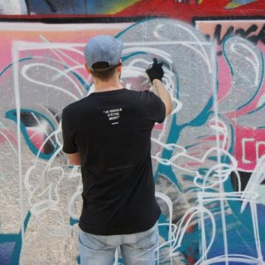 Graffiti à Bercy – FESTIVAL PHENOMEN'ART