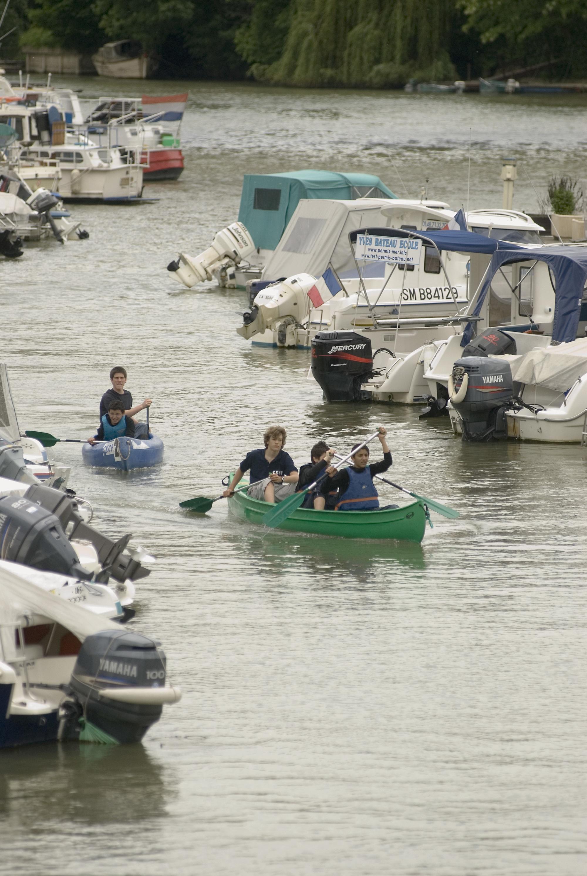 canoe-port-nogent-bateau
