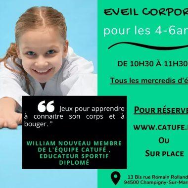 Eveil Corporel de l'été pour enfants au Catufé