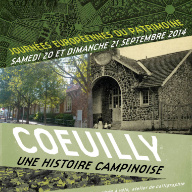 CIRCUITS PEDESTRES ET CYCLABLES  « COEUIILLY, UNE HISTOIRE CAMPINOISE »
