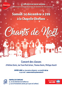 Concert de Noël à Charenton