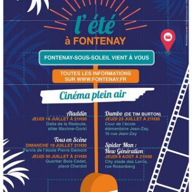 Cinéma de Plein Air à Fontenay-sous-Bois