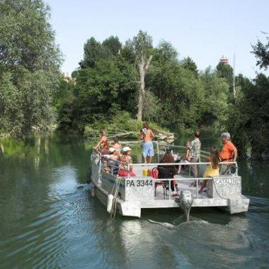 Croisière des  îles de la Marne à Champigny