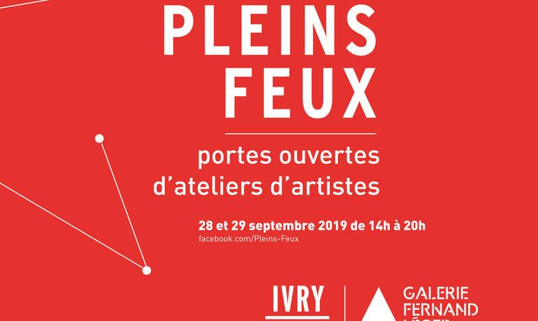 Pleins Feux : Visites d'Ateliers d'Artistes à Ivry