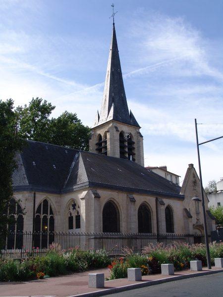 eglise saint saturnin gentilly